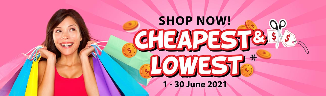 Cheapest & Lowest