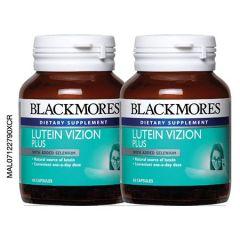 BLACKMORES LUTEIN VIZION PLUS CAPSULE 60S X 2
