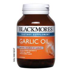 BLACKMORES GARLIC OIL CAPSULE 250S