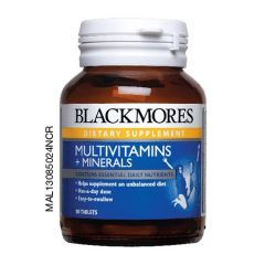 BLACKMORES MULTIVITAMINS + MINERALS TABLET 30S