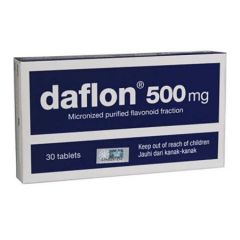 DAFLON 500MG FOR HEMORRHOID TREATMENT TABLET 15S X 2