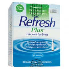 REFRESH PLUS EYE DROPS 30S