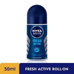NIVEA FOR MEN DEODORANT FRESH ROLL ON 50ML