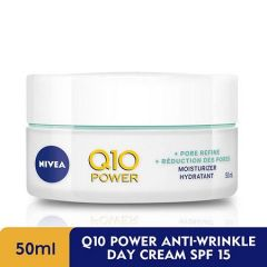 NIVEA Q10 PLUS ANTI-WRINKLE DAY CREAM 50ML
