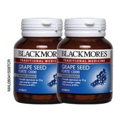 BLACKMORES GRAPE SEED FORTE 12000 TABLET 30S X 2