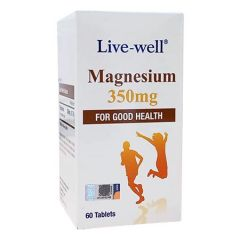 LIVE WELL MAGNESIUM 350MG 60S