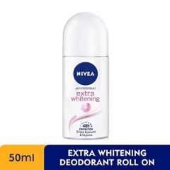 NIVEA DEODORANT EXTRA WHITE PORE MINIMIZER ROLL ON 50ML