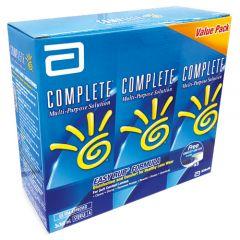 COMPLETE MULTI-PURPOSE SOLUTION EASY RUB 360ML X 3