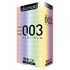 OKAMOTO 003PLATINUM CONDOM 10S