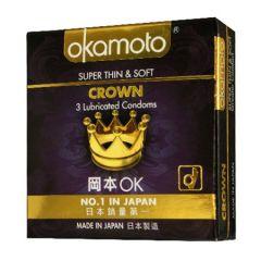 OKAMOTO CROWN CONDOM 3S