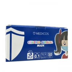 MEDICOS FACE MASK CHILDREN 3PLY 50S