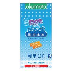 OKAMOTO DOT DE COOL CONDOMS 10S