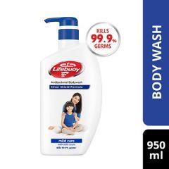 LIFEBUOY ACTIV SILVER MILD CARE ANTIBACTERIAL BODY WASH 950ML