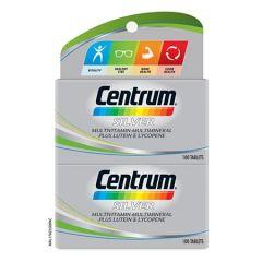 CENTRUM SILVER MULTIVITAMINS & MINERALS + LUTEIN & LYCOPENE TABLET 100S X 2