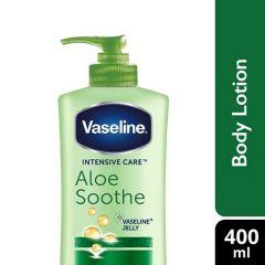 VASELINE INTENSIVE CARE ALOE SOOTHE 400ML