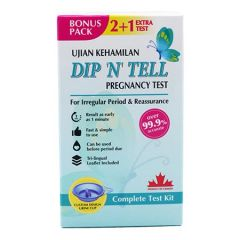 DIP N TELL PREGNANCY TEST 2S