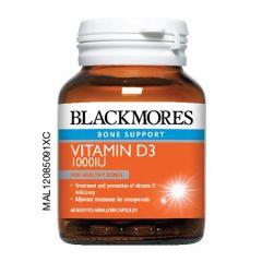 BLACKMORES VITAMIN D3 1000IU CAPSULE 60S