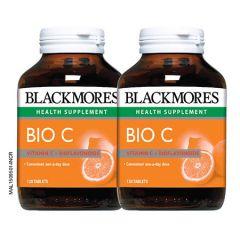 BLACKMORES BIO C 1000MG TABLET 120S X 2