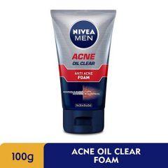 NIVEA FOR MEN ACNE OIL CLEAR FOAM 100G