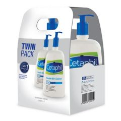 CETAPHIL GENTLE SKIN CLEANSER 1000ML X2