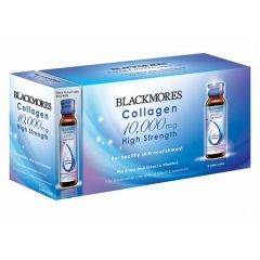 BLACKMORES COLLAGEN 10,000MG HIGH STRENGHT 60ML X 10S + 2S