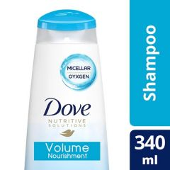 DOVE NUTRITIVE SOLUTIONS VOLUME NOURISHMENT SHAMPOO 340ML