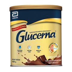GLUCERNA TRIPLE CARE NUTRITION CHOCOLATE 400G