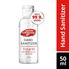 LIFEBUOY INSTANT HAND SANITIZER TOTAL 10 50ML