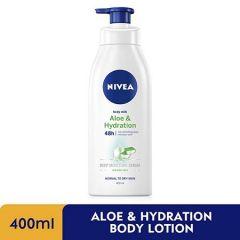 NIVEA ALOE & HYDRATION BODY LOTION 400ML