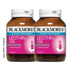BLACKMORES LECITHIN 1200MG CAPSULE 100S X 2