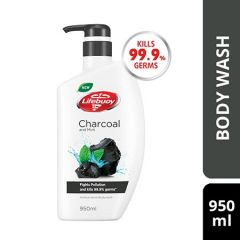 LIFEBUOY CHARCOAL & MINT BODY WASH 950ML
