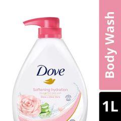 DOVE SOFTENING HYDRATION BODY WASH 1L