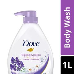 DOVE RELAXING HYDRATION BODY WASH 1L