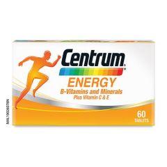 CENTRUM ENERGY VITAMIN B COMPLEX & MINERALS + VITAMIN C & E 60S