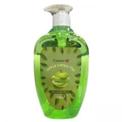 CARING FRUITY GEL HAND WASH APPLE GREEN TEA 500ML