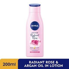 NIVEA EXTRA WHITE RADIANT ROSE & ARGAN OIL IN LOTION 200ML