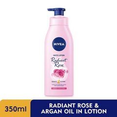 NIVEA EXTRA WHITE RADIANT ROSE & ARGAN OIL IN LOTION 350ML