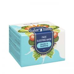 NATURESENTIALS SUPER7FOOD GENTLE & SOOTHING FACE SLEEPING MASK 50ML