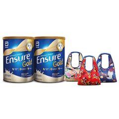 ENSURE GOLD COMPLETE NUTRITION VANILLA 850G X 2 (CNY PACK + PREMIUM)