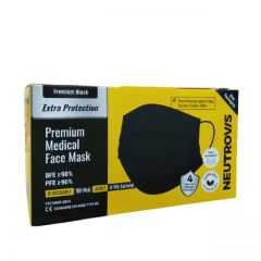 NEUTROVIS ADULT 4PLY MEDICAL FACE MASK 50S