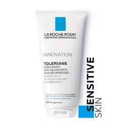 LA ROCHE POSAY TOLERIANE CARING WASH ANTI-DISCOMFORT FACIAL CLEANSER - NORMAL - DRY SENSITIVE SKIN 200ML