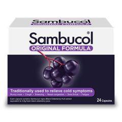 SAMBUCOL ORIGINAL BLACK ELDERBERRY CAPSULE 24S