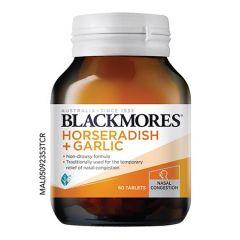 BLACKMORES HORSERADISH + GARLIC TABLET 60S