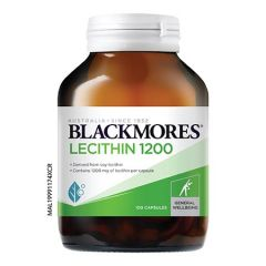 BLACKMORES LECITHIN 1200MG CAPSULE 100S