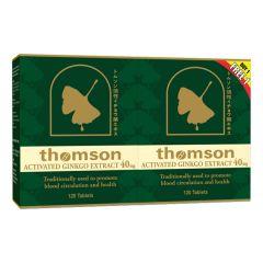 THOMSON GINKGO 40MG 120S X 2