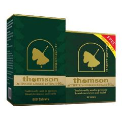THOMSON GINKGO 40MG 500S + 30S