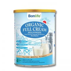 BONLIFE ORGANIC FULL CREAM MILK POWDER 800G