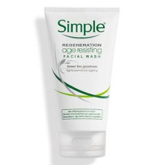 SIMPLE REGENERATION AGE RESISTING FACIAL WASH 150ML
