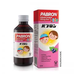 PABRON COUGH CHILD SYRUP 120ML