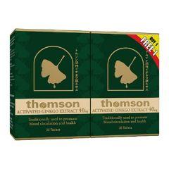 THOMSON GINKGO 40MG 30S + 30S